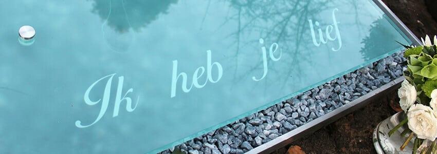 glazen grafteen